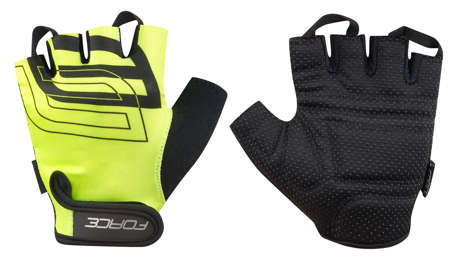 Rukavice FORCE SPORT, fluo L