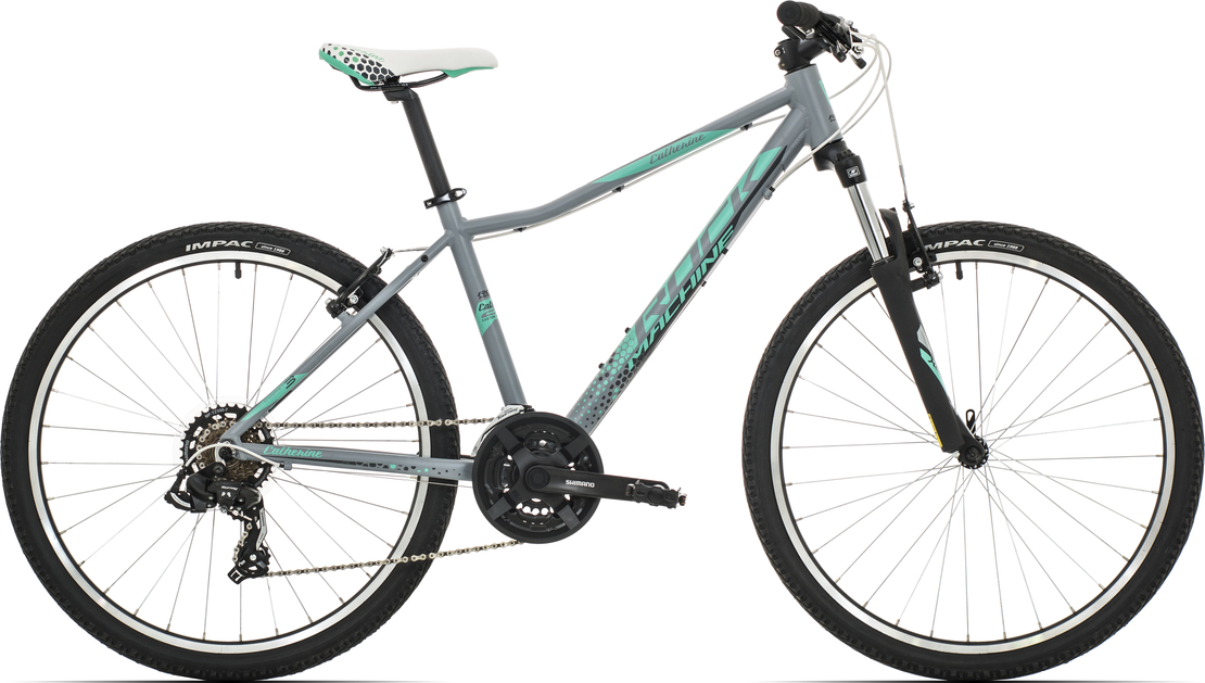 "Rock Machine Catherine 26"" 2019, rám 14"" (XS) mat grey/mint green/dark grey"