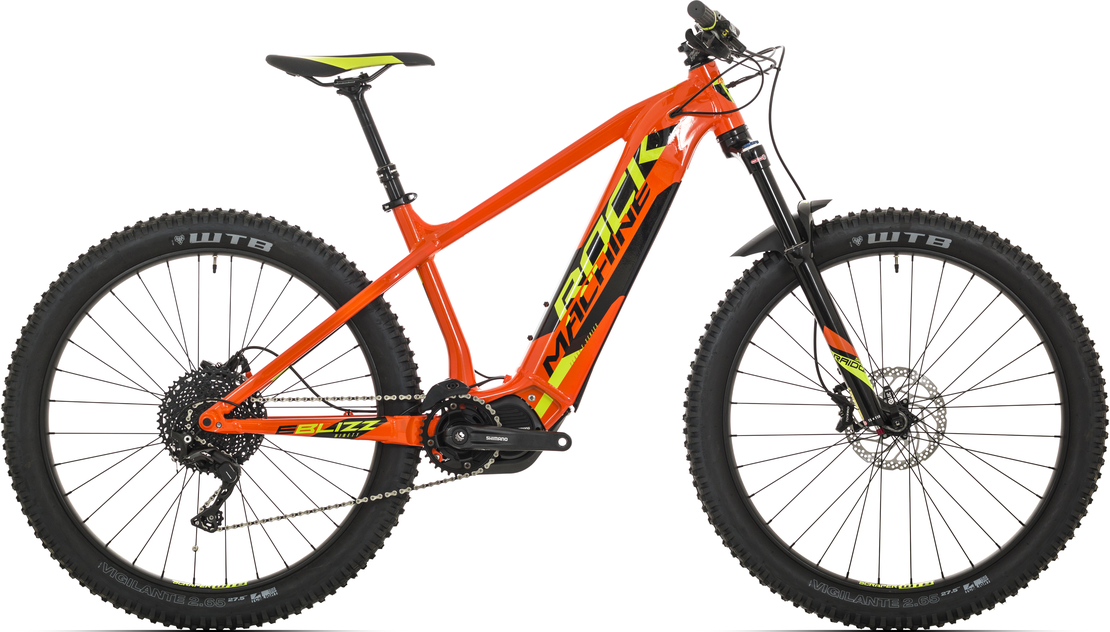Elektrokolo Rock Machine Blizz INT e90-27+ (XL) 2019 gloss orange/radioactive yellow/black