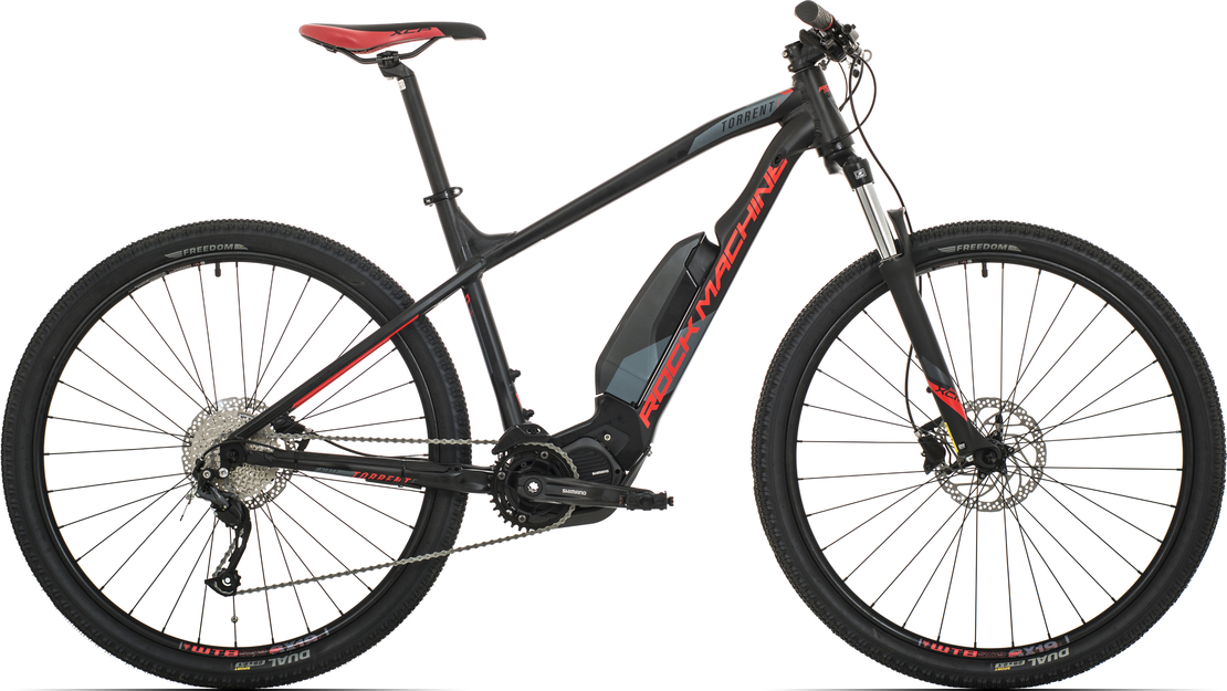 Elektrokolo Rock Machine Torrent e30-29 (XL) 2019 mat black/neon red/dark grey
