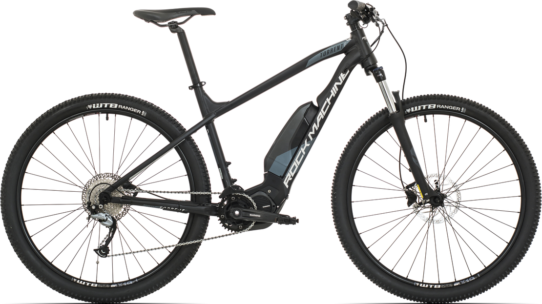 Elektrokolo Rock Machine Torrent e70-29 (L) 2019 mat black/silver/dark grey