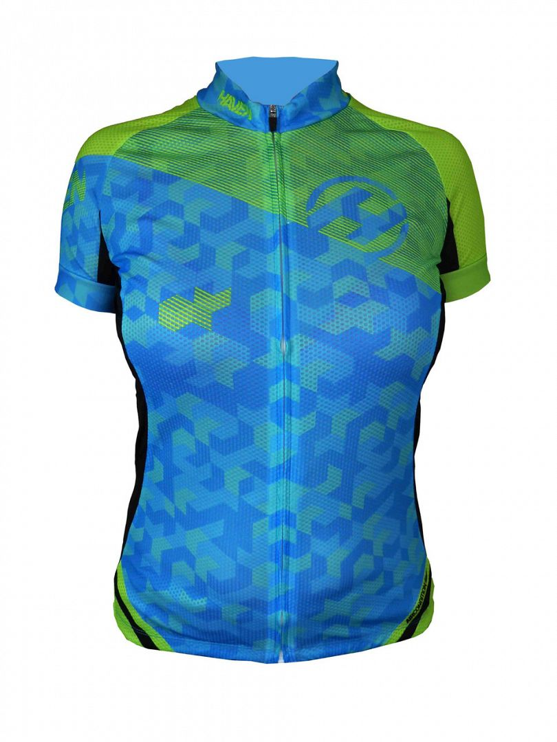 Dres HAVEN SINGLETRAIL women blue/green, vel. XL