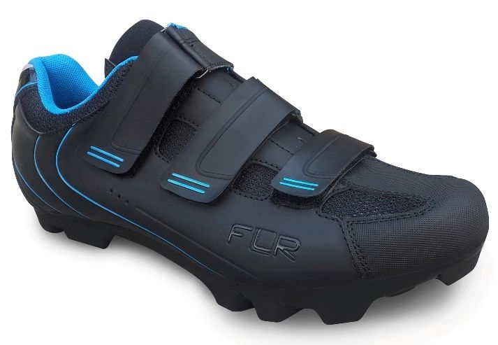 MTB tretry FLR F-55 Black/Blue, vel. 48