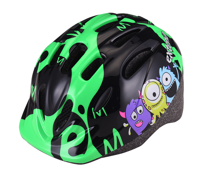 Přilba Extend BILLY Monster neon green S/M