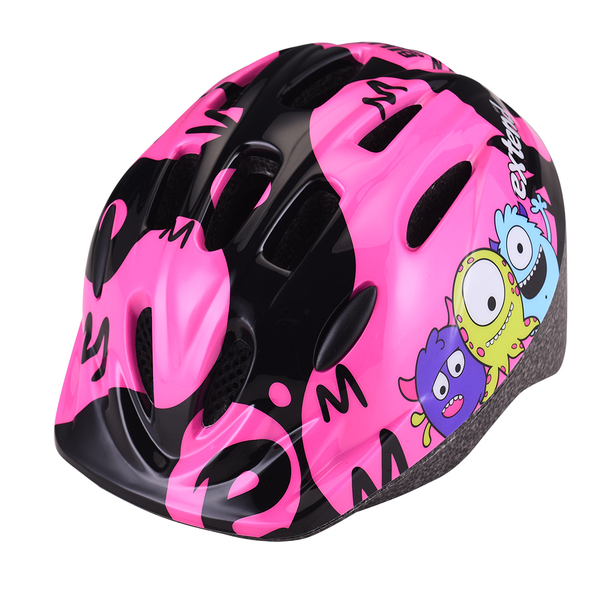 Přilba Extend BILLY Monster neon pink S/M