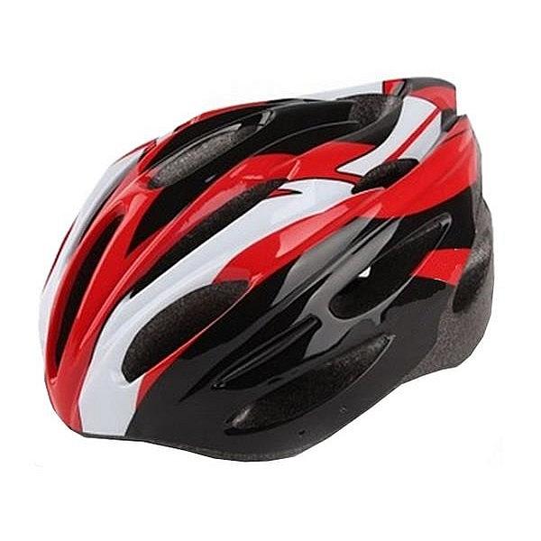 Cyklistická přilba NEXELO FOTON červeno/bílo/černá