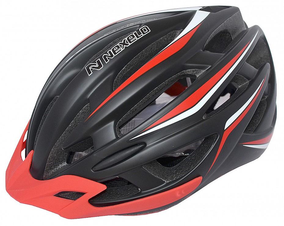 NEXELO cyklistická přilba INVERNO černo-červená mat L 58-62 cm 2016