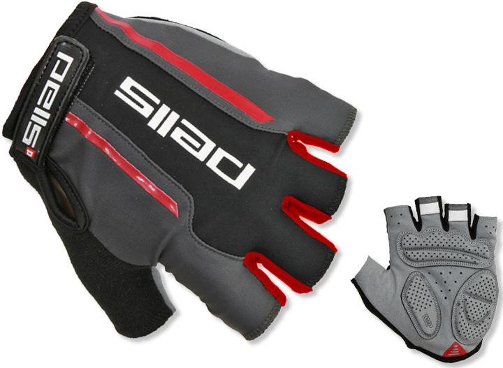 Rukavice Pells CORSA - černá/červená, vel. M (Rukavice Pells CORSA, vel. M, barva černo-červená)