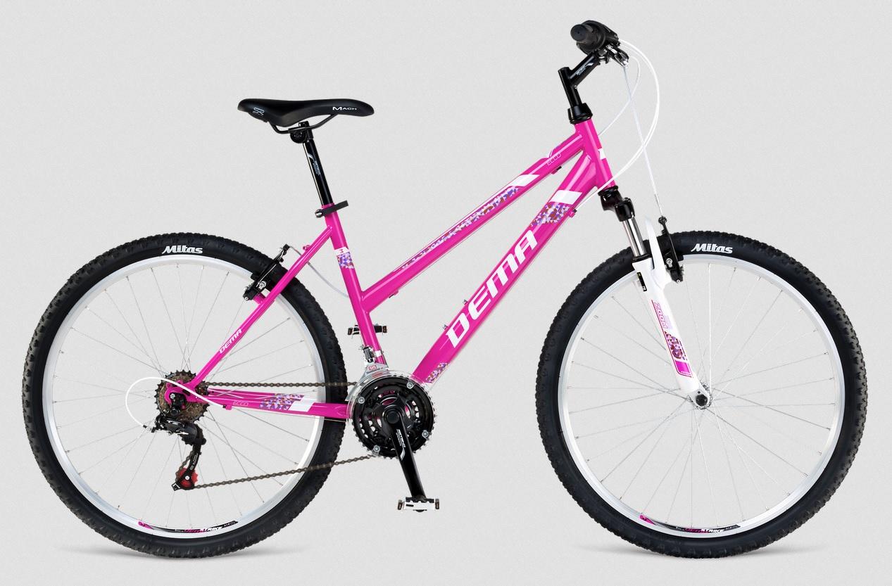 "Dema ECCO Lady 3.0 violet-white rám 18"" 2017"