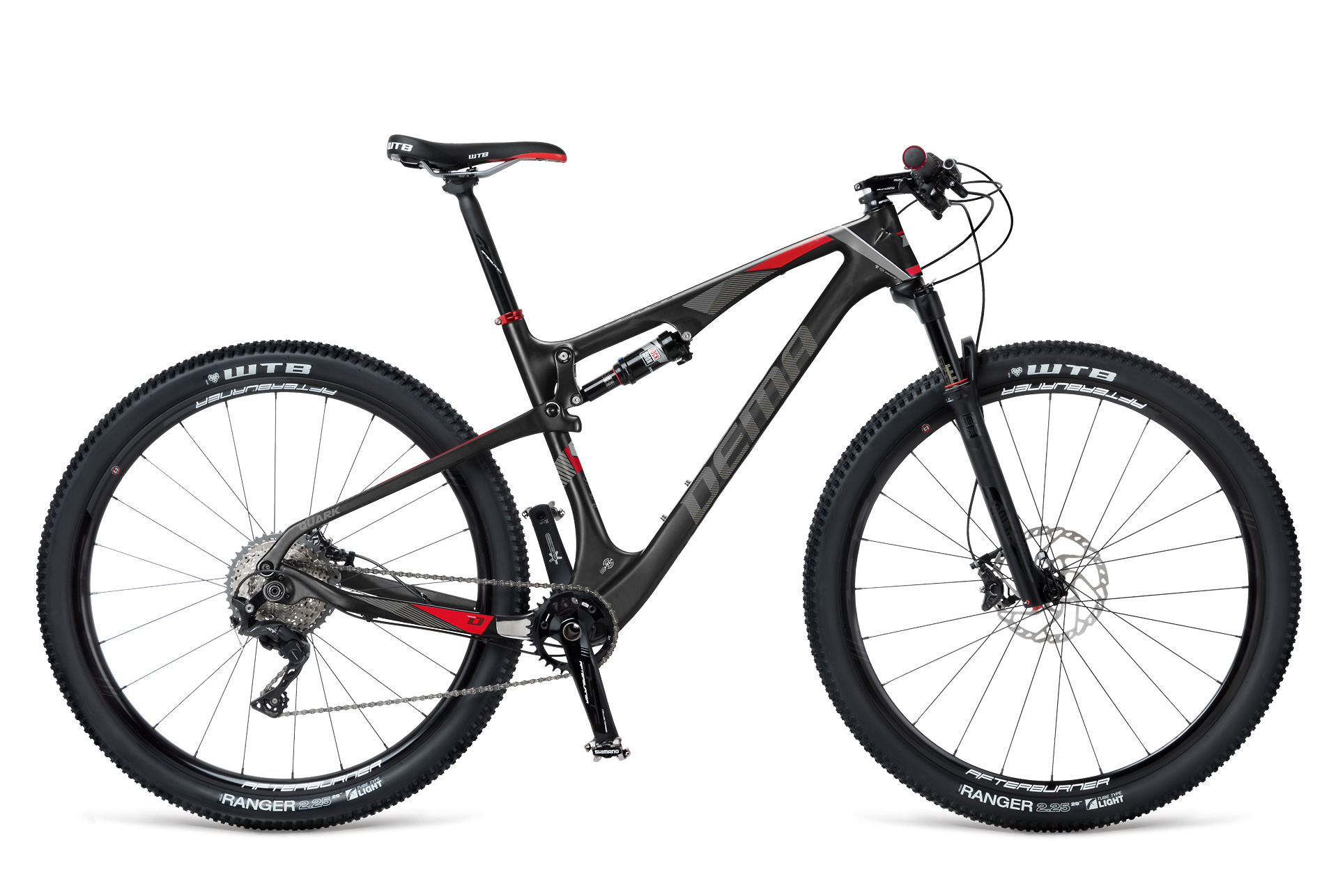 "Dema QUARK ELITE black-red 19"", 2017"