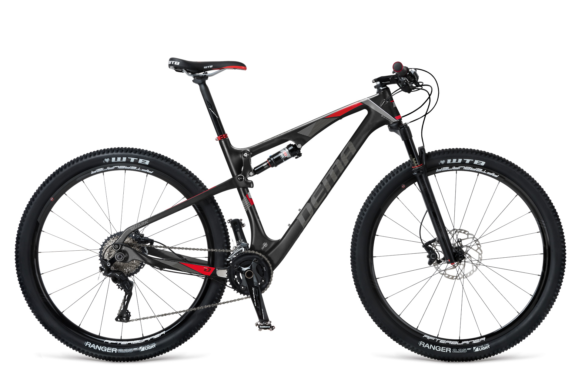 "Dema QUARK 9.0 black-red 19"", 2017"
