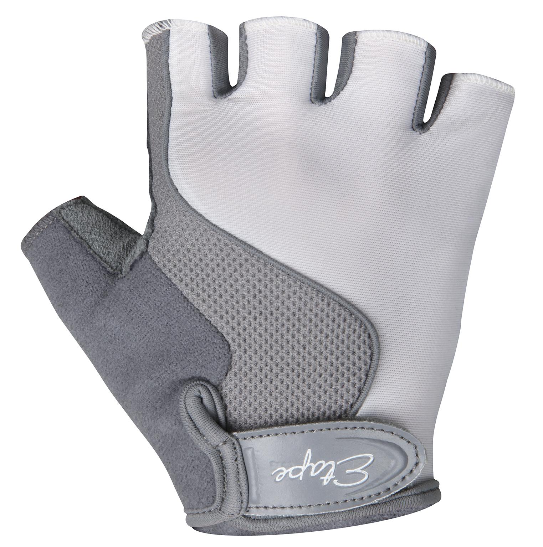 Dětské cyklistické rukavice ETAPE Simple, vel. 11-12, bílá/šedá, model 2017 (Dětské cyklistické rukavice )