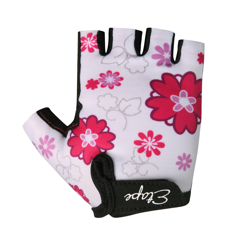 Dětské cyklistické rukavice ETAPE Tiny, vel. 7-8, bílá, model 2017 (Dětské cyklistické rukavice )