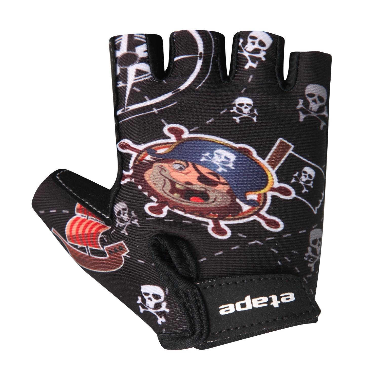 Dětské cyklistické rukavice ETAPE Tiny, vel. 5-6, černá, model 2017 (Dětské cyklistické rukavice )