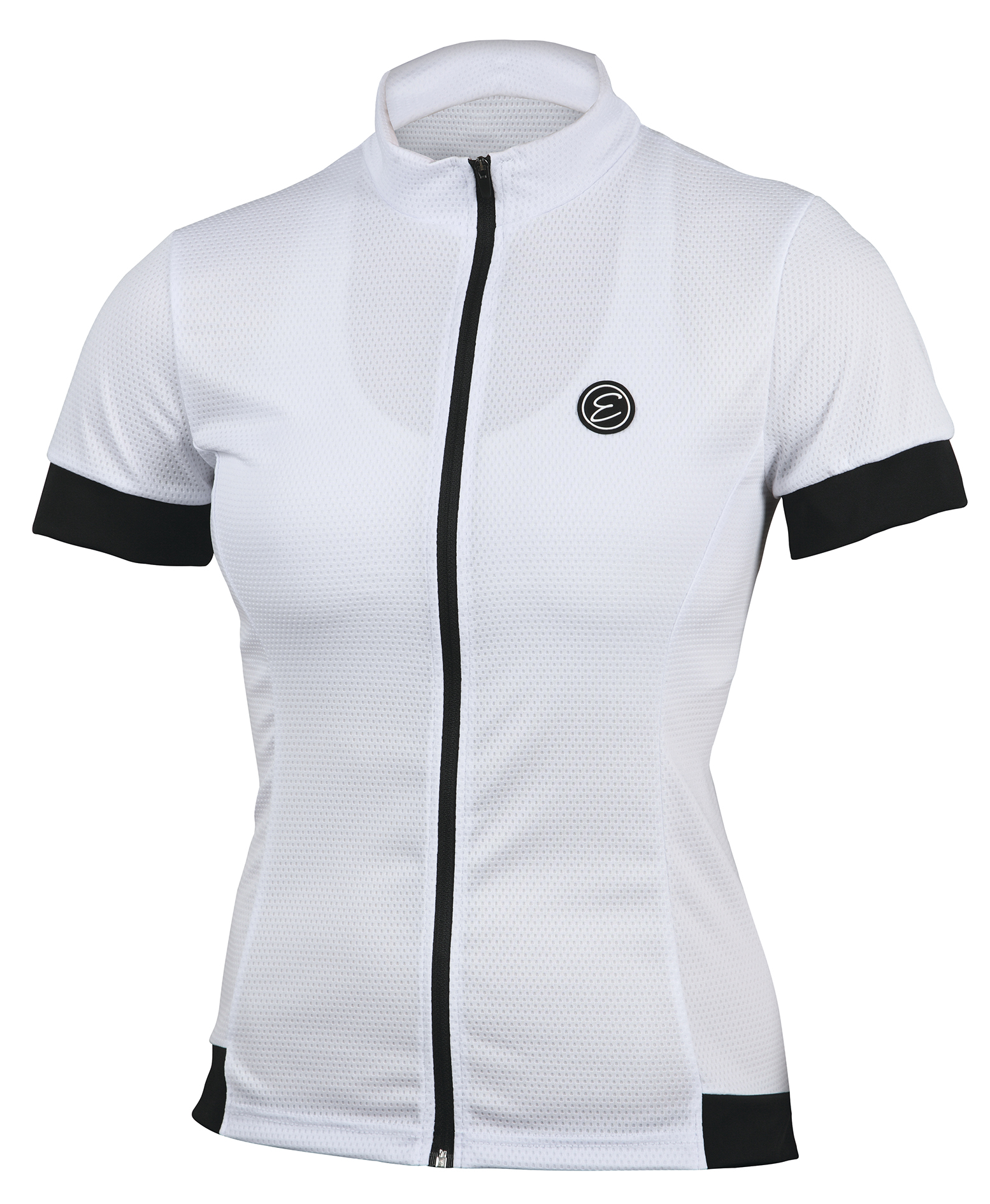 Dámský cyklistický dres ETAPE Donna, vel. M, bílá, model 2017 (Dámský dres Etape, dlouhý přední zip)