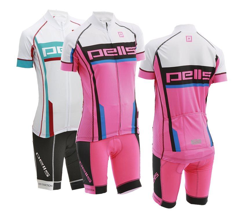 Dámský dres PELL'S POWER Lady, vel. M, bílá, krátký rukáv - ZDARMA dopravné! (Dámský cyklistický dres PELL'S, vel. M, krátký rukáv, barva bílá dle vyobrazení!)