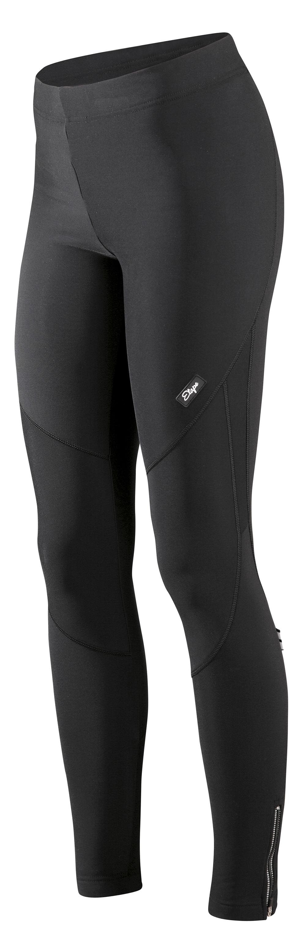 Dámské cyklistické kalhoty ETAPE Lady long, vel. XL, černá, s vložkou model 2017 (Dámské cyklistické kalhoty Etape, s dámskou elastickou vložkou )
