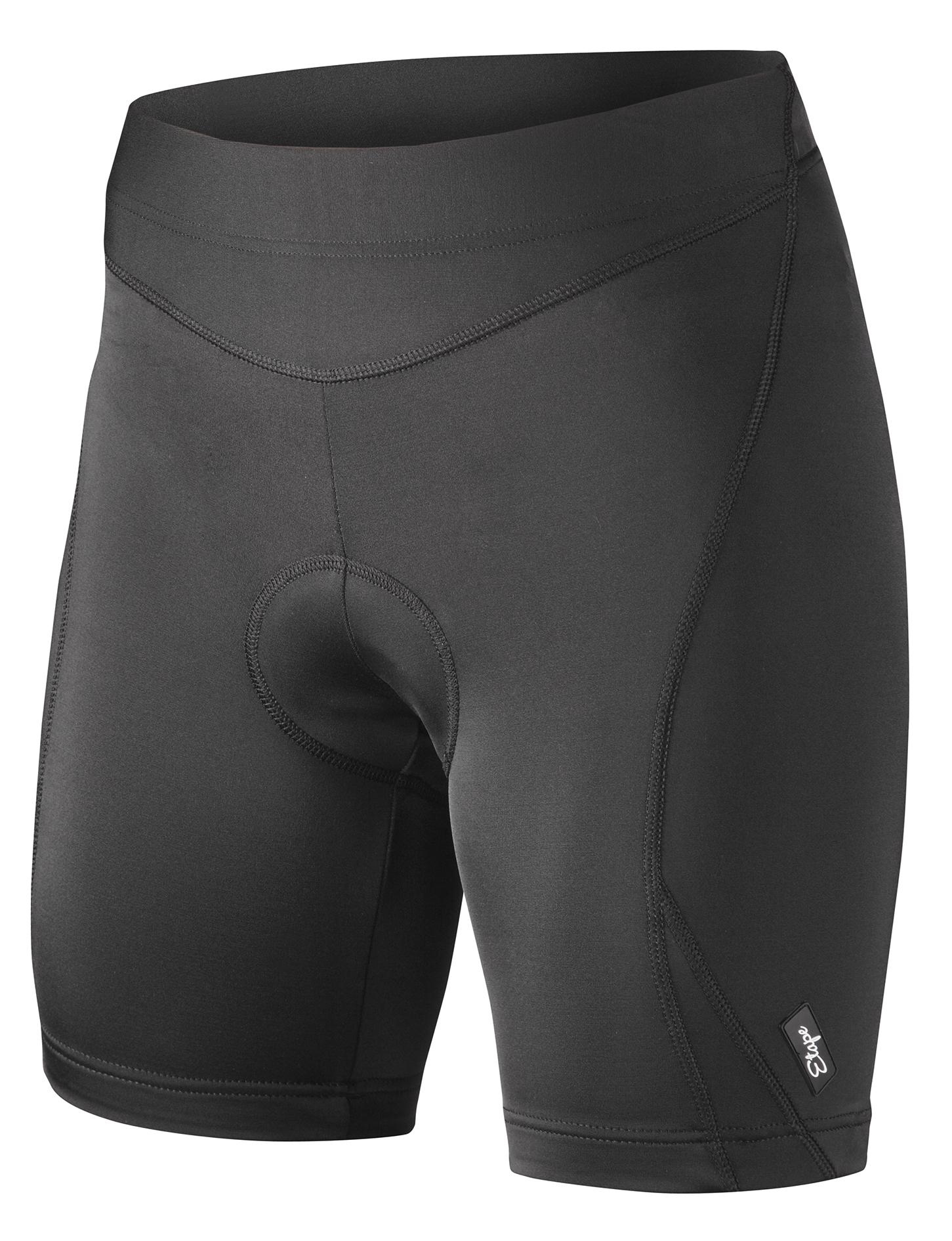 Dámské cyklistické kraťasy ETAPE Natty, vel. XL, černá, s vložkou, model 2017 (Dámské cyklistické kraťasy Etape, s dámskou elastickou vložkou )