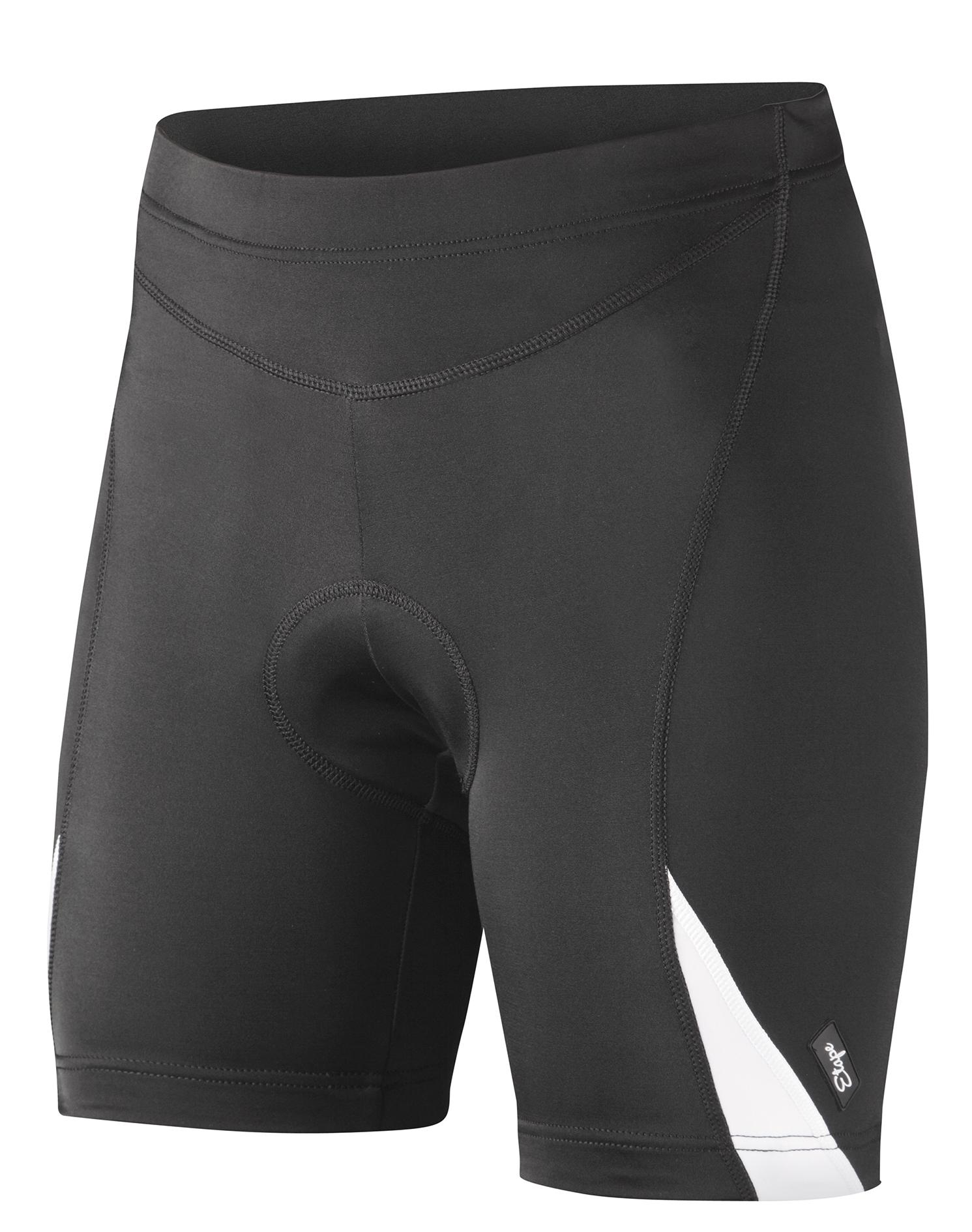 Dámské cyklistické kraťasy ETAPE Natty, vel. M, černá/bílá s vložkou, model 2017 (Dámské cyklistické kraťasy Etape, s dámskou elastickou vložkou )