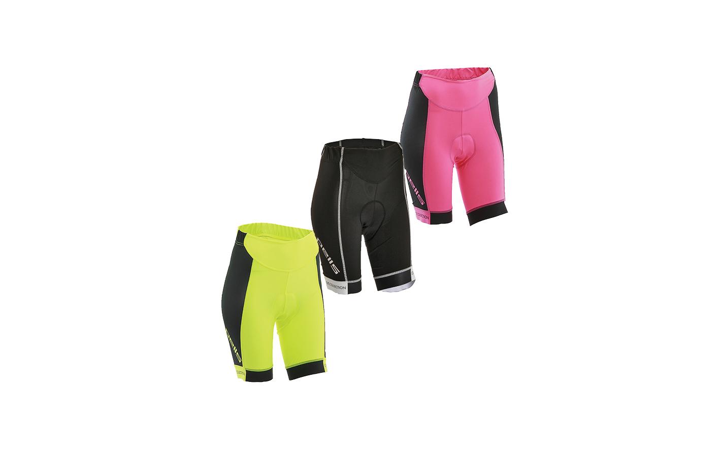 Dámské kraťasy PELL'S POWER Lady, vel. XL, růžová - ZDARMA dopravné! (Dámské cyklistické kraťasy PELL'S, vel. XL, barva růžová dle vyobrazení!)