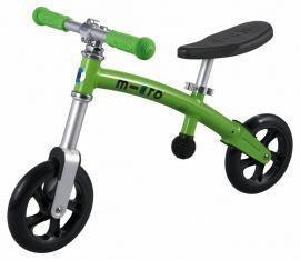 Odrážedlo-odstrkovadlo Micro G-bike+ light green-ZDARMA dopravné a lahev 0,5 l (barva světle zelená dle vyobrazení, varianta bez brzdy)