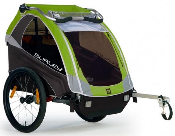 Cyklovozík BURLEY D'LITE, model 2016 - ZDARMA dopravné (Dětský vozík za kolo - Cyklovozík - BURLEY d'Lite, odpružený)