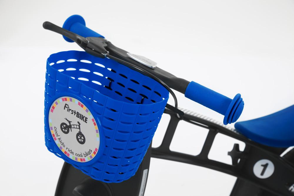 First Bike košík na řídítka modrý - ZDARMA ho od nás dostanete při koupi odrážedla F-B