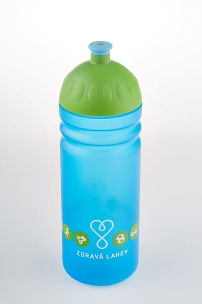 Zdravá lahev - 0,7l LOGO modré model 2014 (modro-zelená - dle vyobrazení)