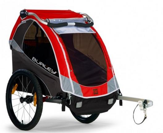 Cyklovozík BURLEY SOLO, model 2016 - ZDARMA dopravné a druhý upínací díl! (Dětský přívěsný vozík za kolo - Cyklovozík - BURLEY SOLO, odpružený)