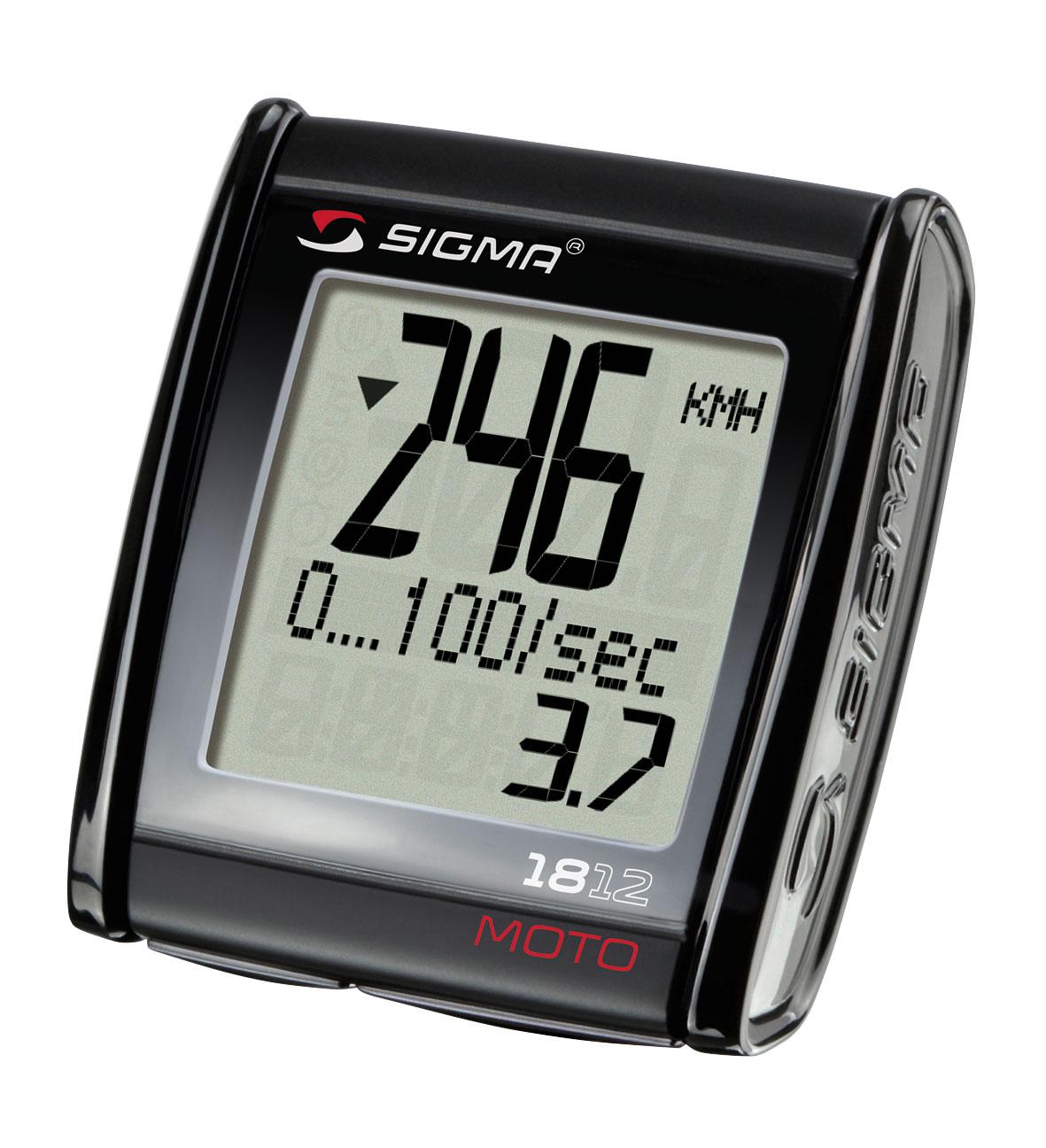 Počítač SIGMA MC 18.12 max. rychlost 399km/hod.