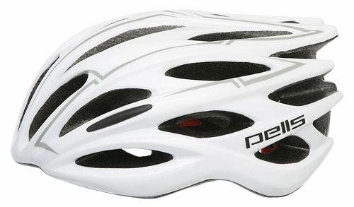 PELLS Cyklistická přilba DARRON, ( 54-60 cm) bílá 2016