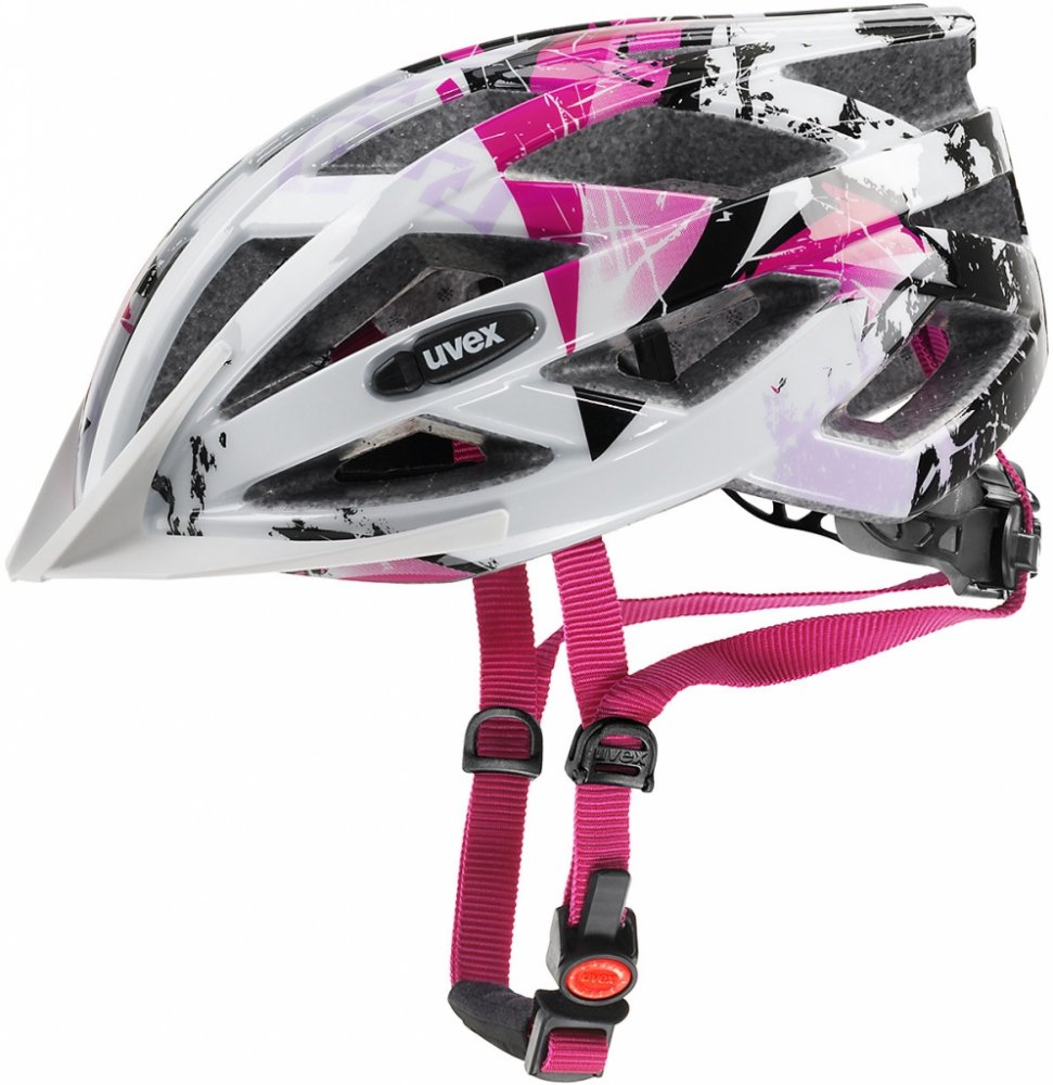 UVEX AIR WING WHITE-PINK 2017
