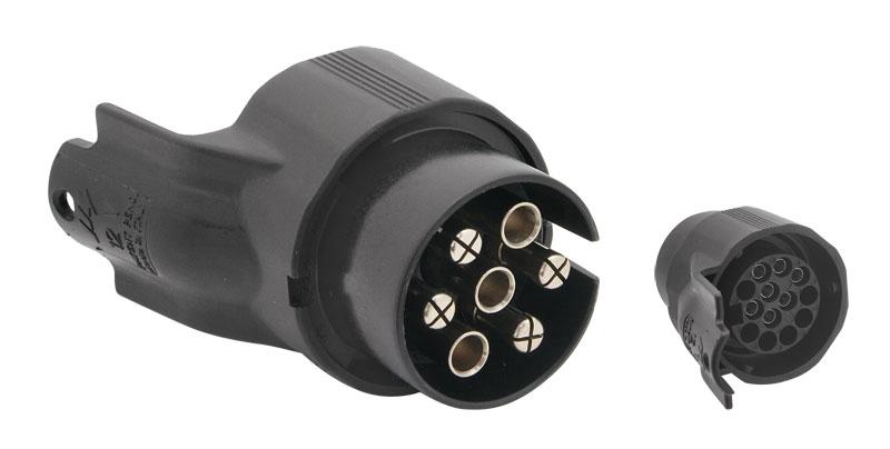 Adaptér elektrické přípojky tažného zařízení z 13 na 7 pinů (Adaptér elektrické přípojky tažného zařízení z 13 na 7 pinů)