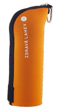 TERMOOBAL Zdravá lahev CABRIO - 0,7l oranžová cihla (Termoobal pro Zdravou lahev, barva oranžová cihla)