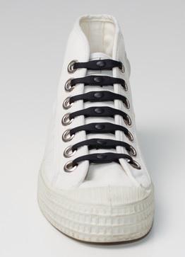 Silikonové tkaničky SHOEPS - black