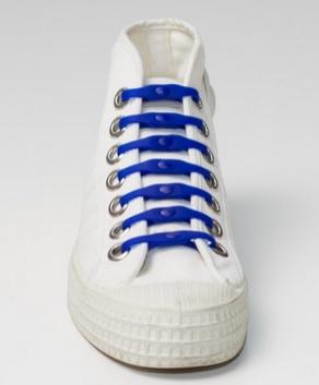 Silikonové tkaničky SHOEPS - blue