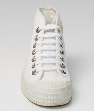 Shoeps - silikonové tkaničky - white (originální tkaničky, které se nešněrují, barva bílá)