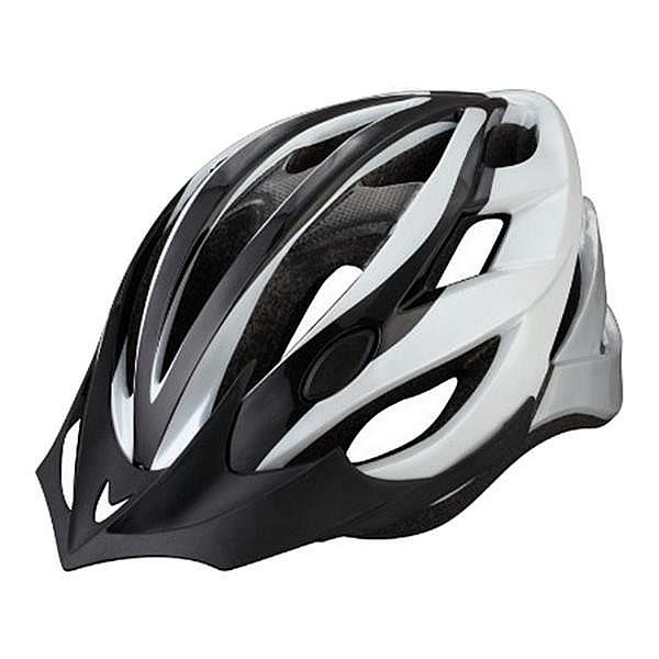 NEXELO cyklistická přilba CERES bílo/černá M 55-58 cm, 2016