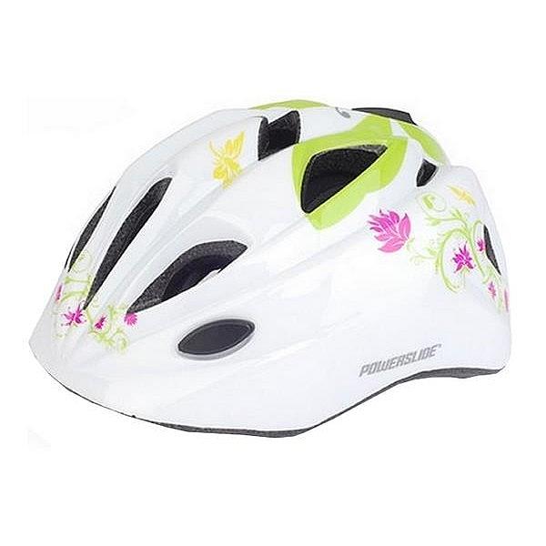 Cyklistická přilba NEXELO FUNNY bílá motýl