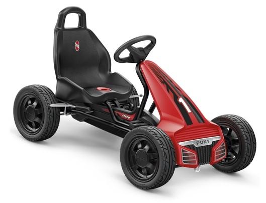 Dětská šlapací kára Puky Go Cart Air F 550L - ZDARMA dopravné a lahev (od 4 let a cca 105 cm, barva červeno-černá)