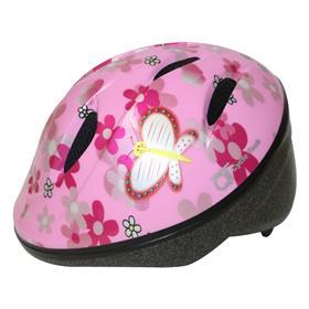 dětská přilba QT růžová motýl