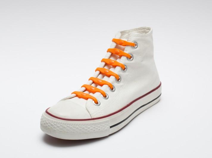 Shoeps - silikonové tkaničky - orange dutch