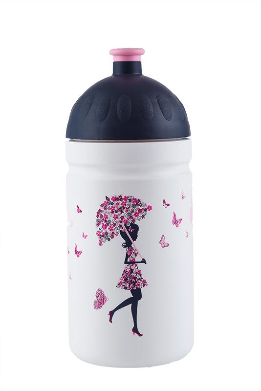 Zdravá lahev Dívka s deštníkem 500ml