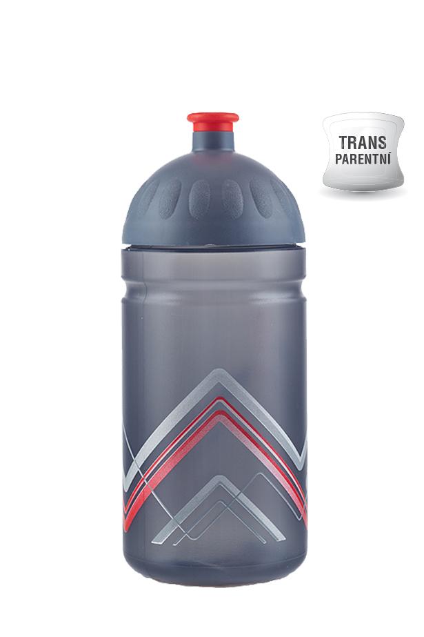 Zdravá lahev BIKE Hory červená 500ml