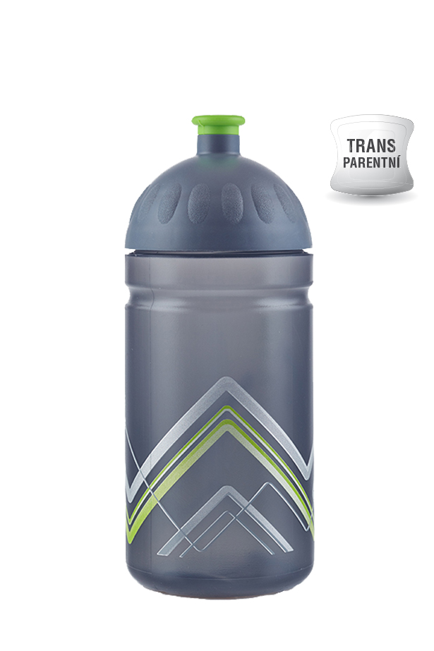 Zdravá lahev BIKE Hory zelená 500ml