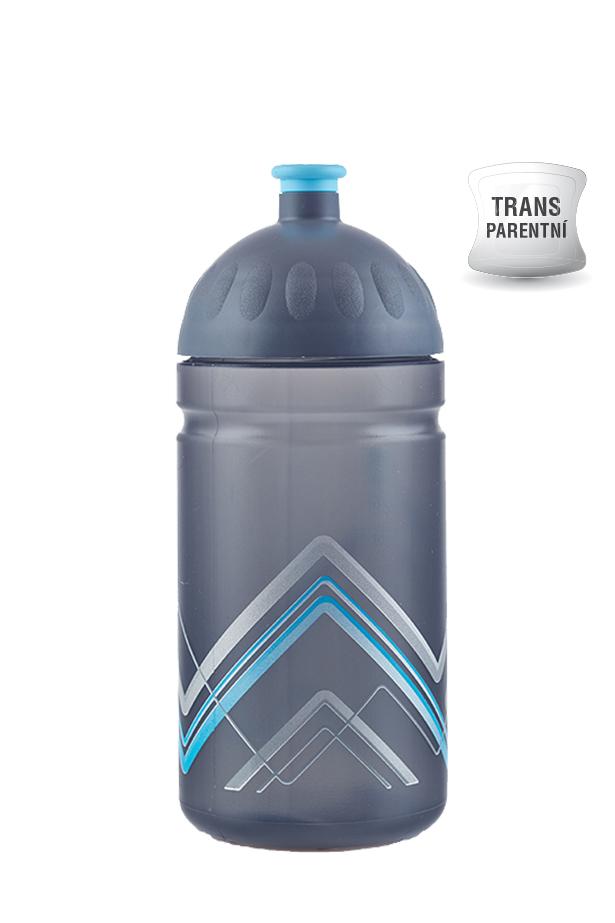 Zdravá lahev BIKE Hory modrá 500ml