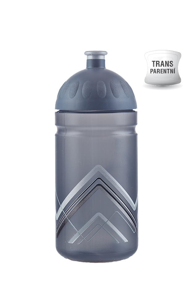 Zdravá lahev BIKE Hory šedá 500ml