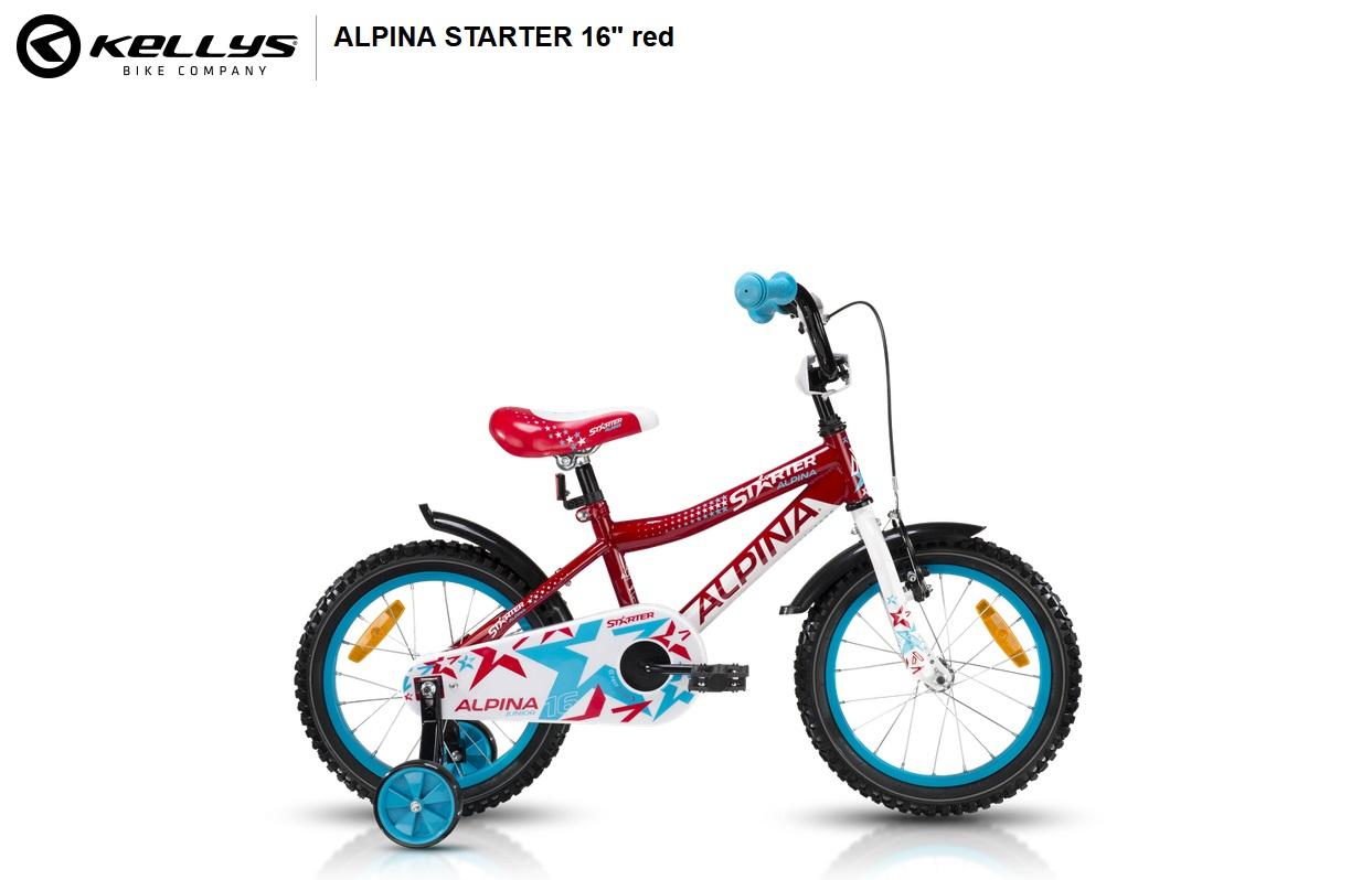 ALPINA STARTER RED 2018