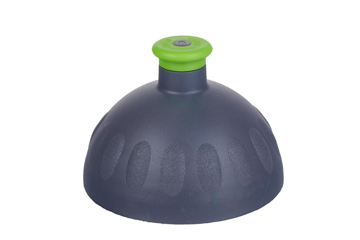 Náhradní víčko komplet Zdravá lahev - antracit-zelené (Náhradní víčko pro Zdravou lahev, barva antracit-zelená zátka)