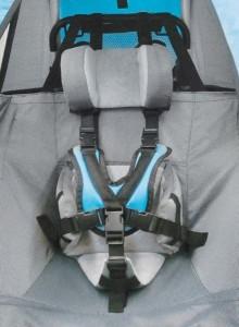 Opora hlavy a trupu pro vozíky Croozer (CROOZER - Opora hlavy a trupu, pro modely od roku 2010 doposud)